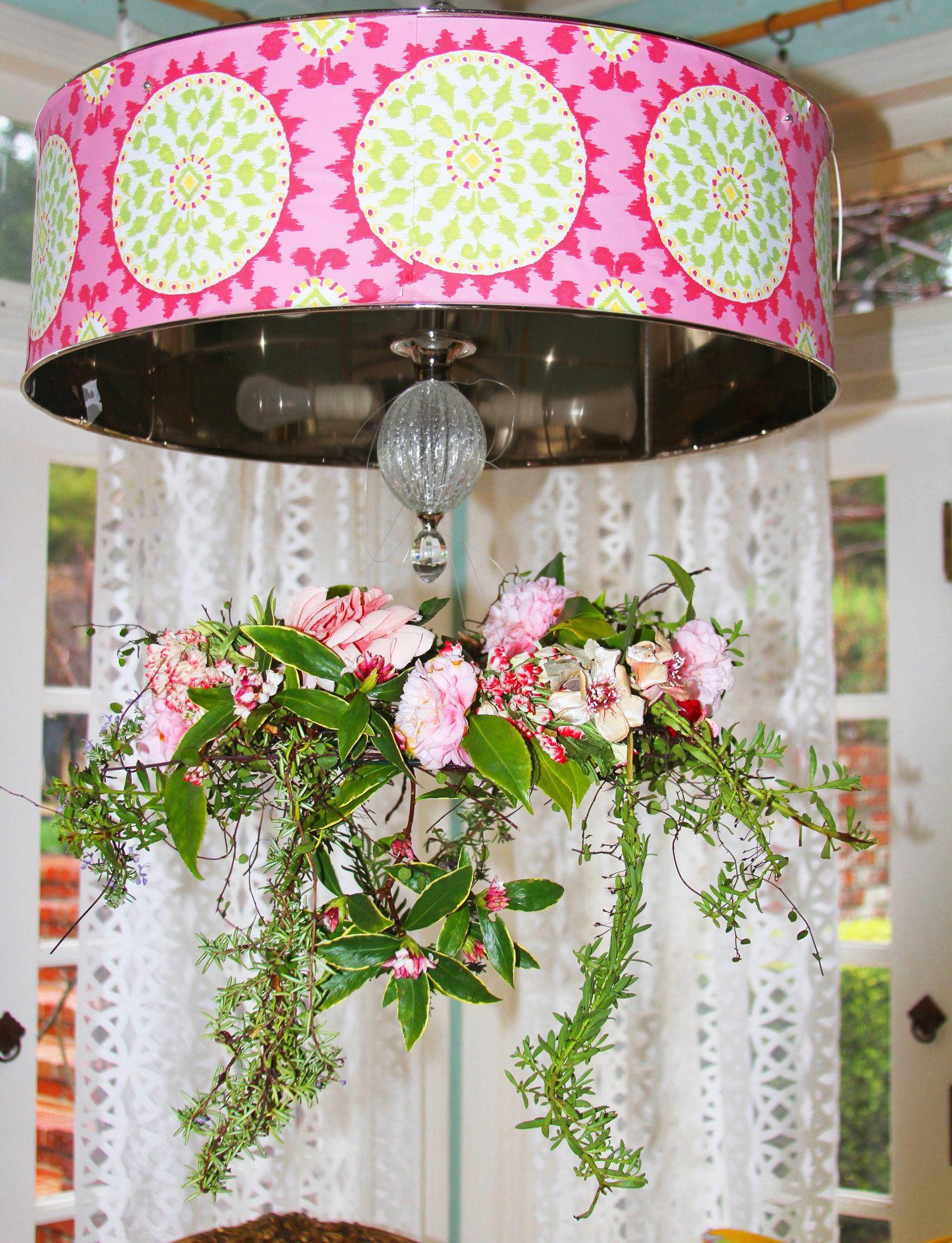 Blog dena designs diy floral chandelier on the blog blog dena designs diy floral chandelier arubaitofo Image collections