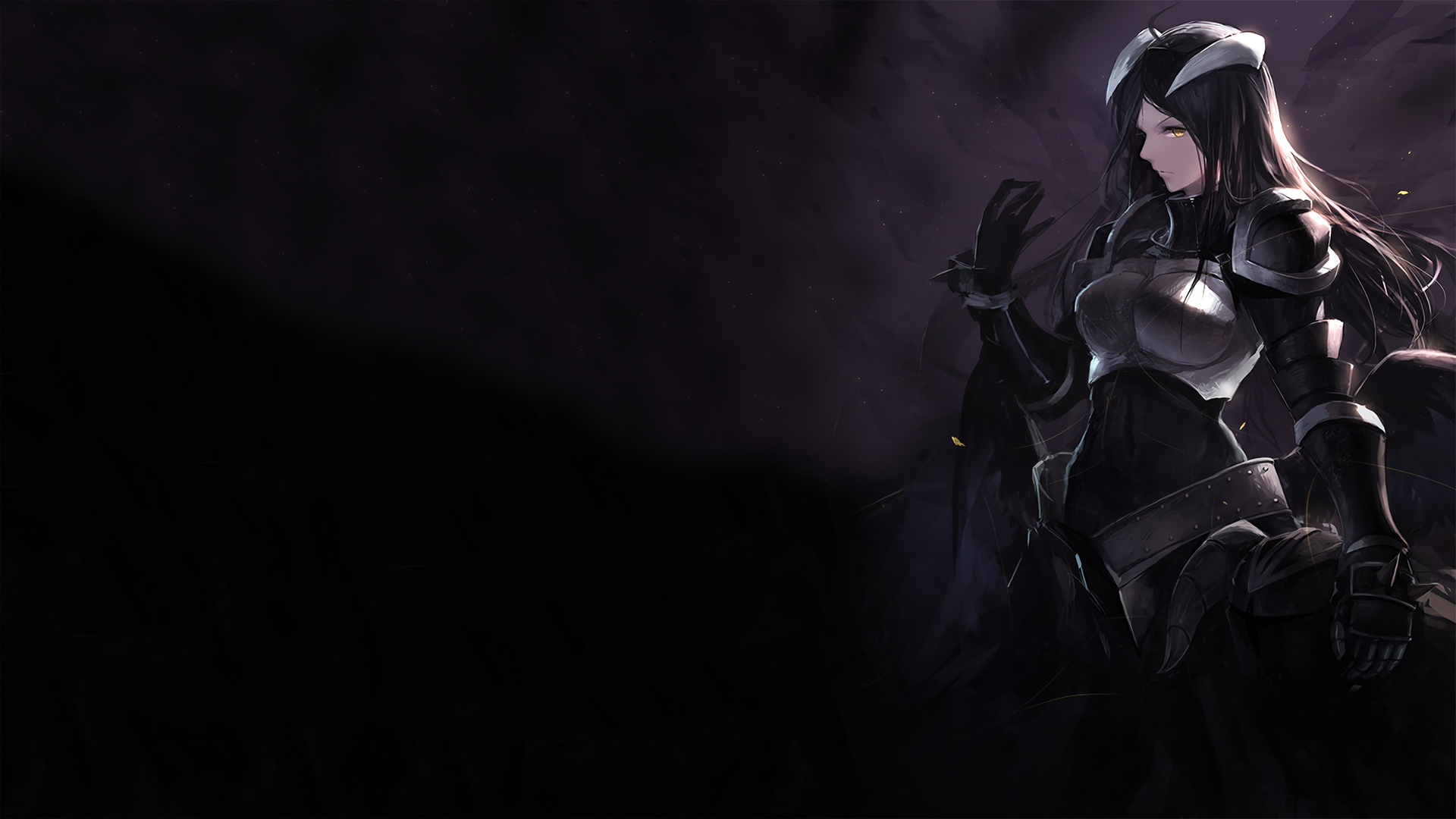 Overlord Albedo 1920x1080 HD Wallpaper From Gallsource