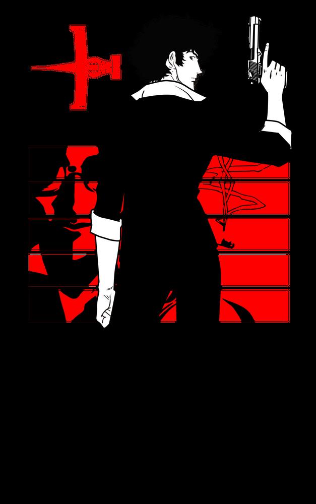 Cowboy Bebop Mini Art Print By Walter Medina Ferrada Without Stand 3 X 4 Cowboy Bebop Bebop Cowboy Bebop Wallpapers