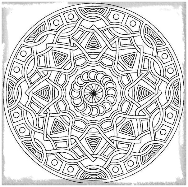 Imprimir Archivos | Dibujos de Mandalas