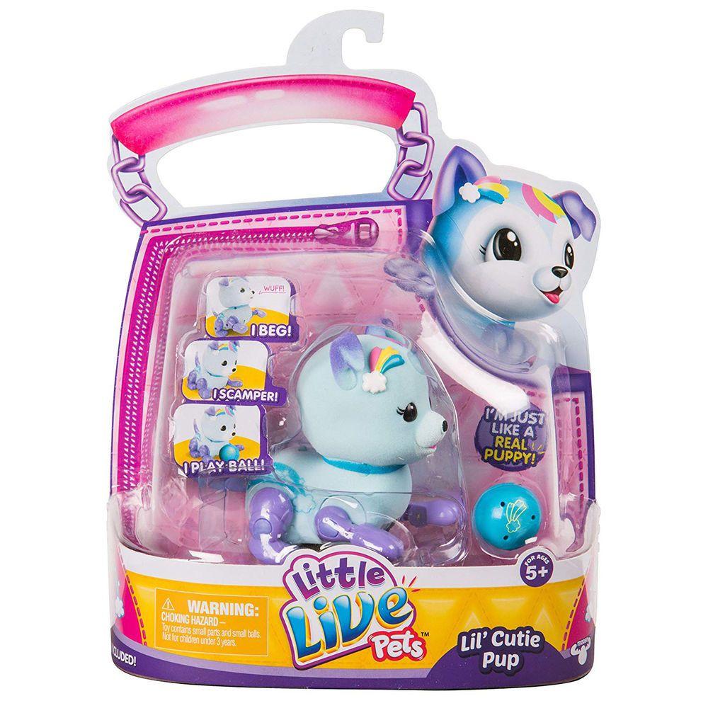 Toys For Girls Kids Lil Cutie Pup Puppy Pet For 3 4 5 6 7 8 9 10 Years Olds Age Shenok Detskie Igrushki Zhivotnye