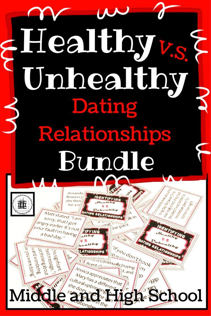 Unhealthy dating relationships