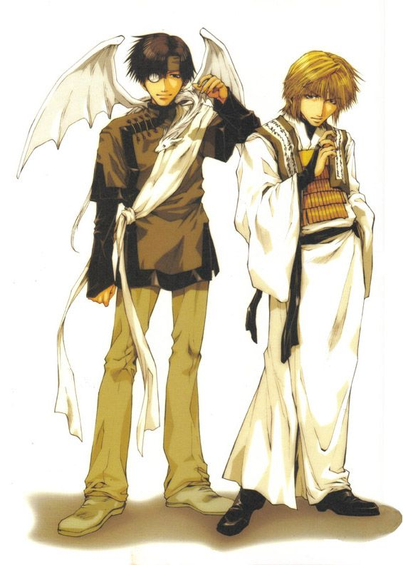 Sanzo and Hakkai