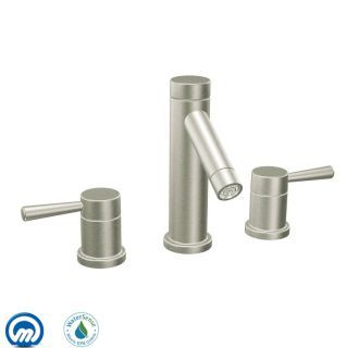View The Moen T6110 Double Handle Widespread Bathroom Faucet From