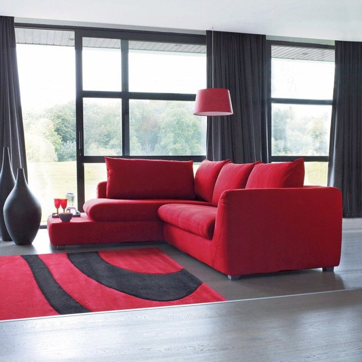 decoration canap rouge recherche google canap pinterest. Black Bedroom Furniture Sets. Home Design Ideas