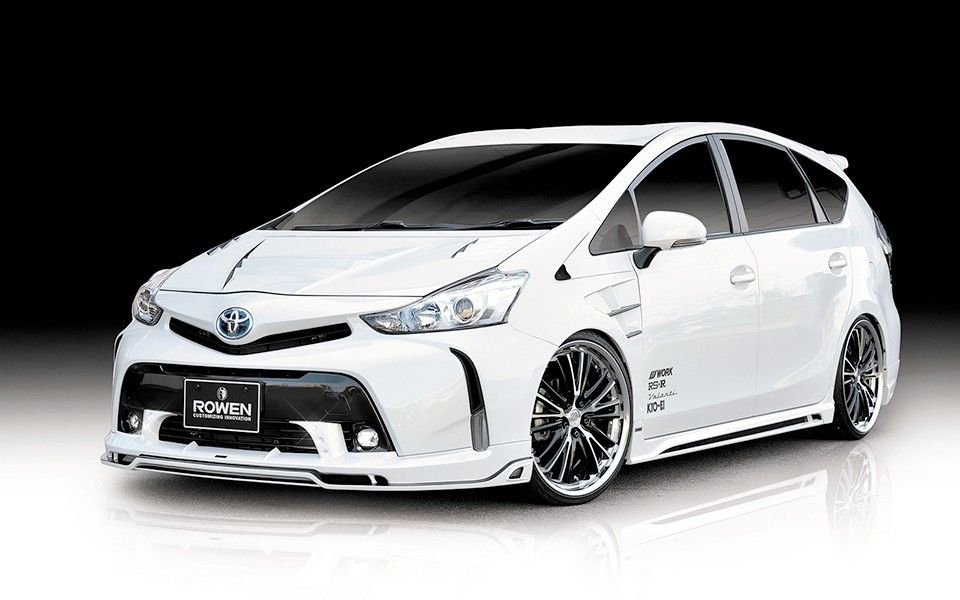 Toyota Prius G S Tuned By Rowen Looks And Sounds Unnaturally Good
