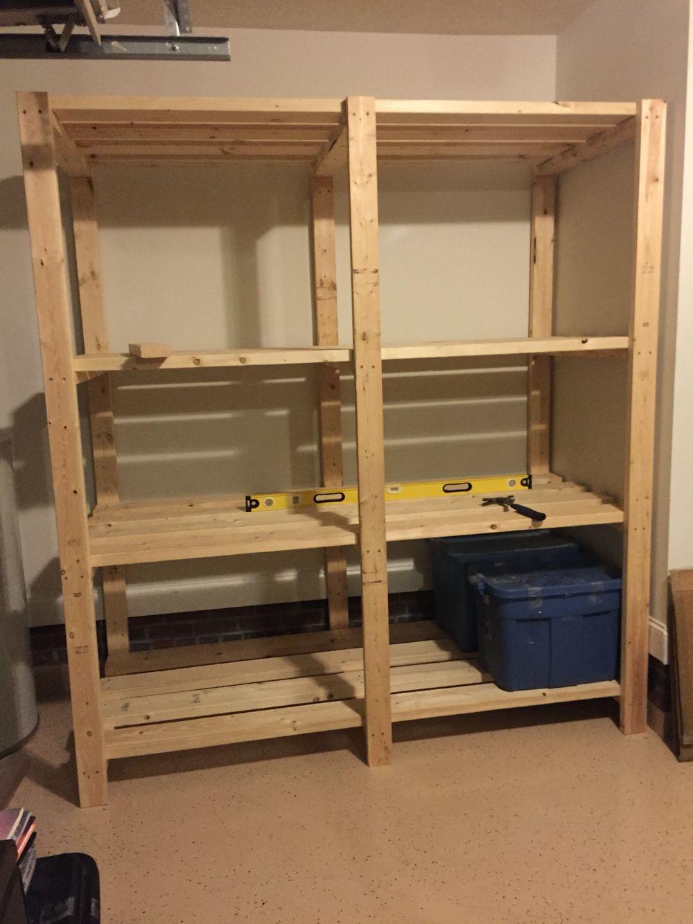 Diy Pallet Shelves For Garage - Sarofudin Blog