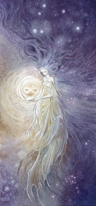 Eternity by Stephanie Pui-Mun Law = one of my FAVORITE Artists. Check out her website for more AMAZING artwork that come with beautiful descriptions and stories, including her tarot cards, fairytales & mythology, creatures, zodiac, and so much more. <3 <3 <3 I hope to draw and paint like her someday! She also has a blog http://shadowscapes-stephanielaw.blogspot.com/ and a deviantart http://puimun.deviantart.com/