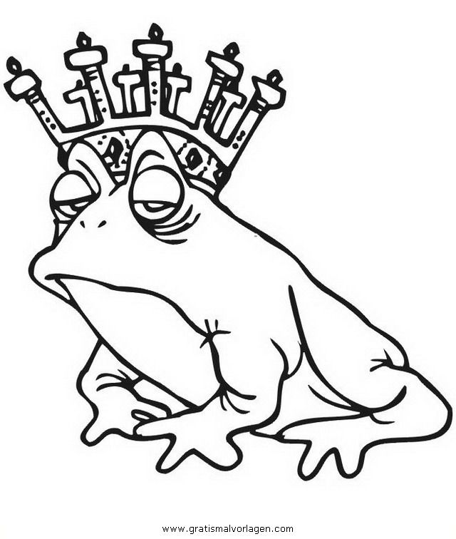 malvorlagen gratis zum ausmalen für kinder  frosch