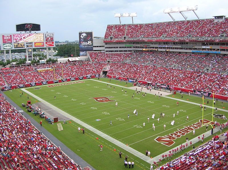 "The current Tampa Stadium (""Ray Jay"") or Raymond James Stadium officially opened on September 20, 1998."