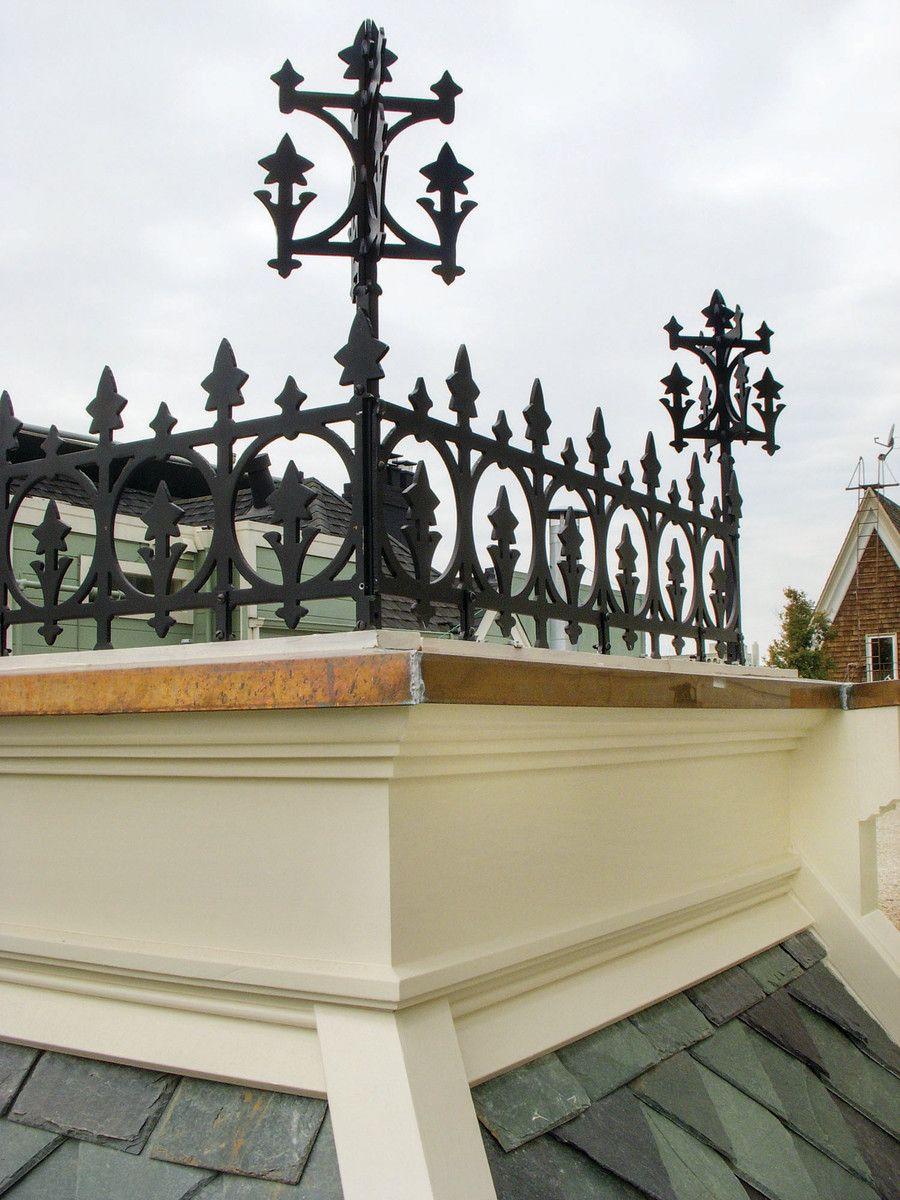 Ornamental Roof Cresting In 2020 Roof Design Widows Walk Mansard Roof