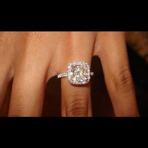 wedding ring - square