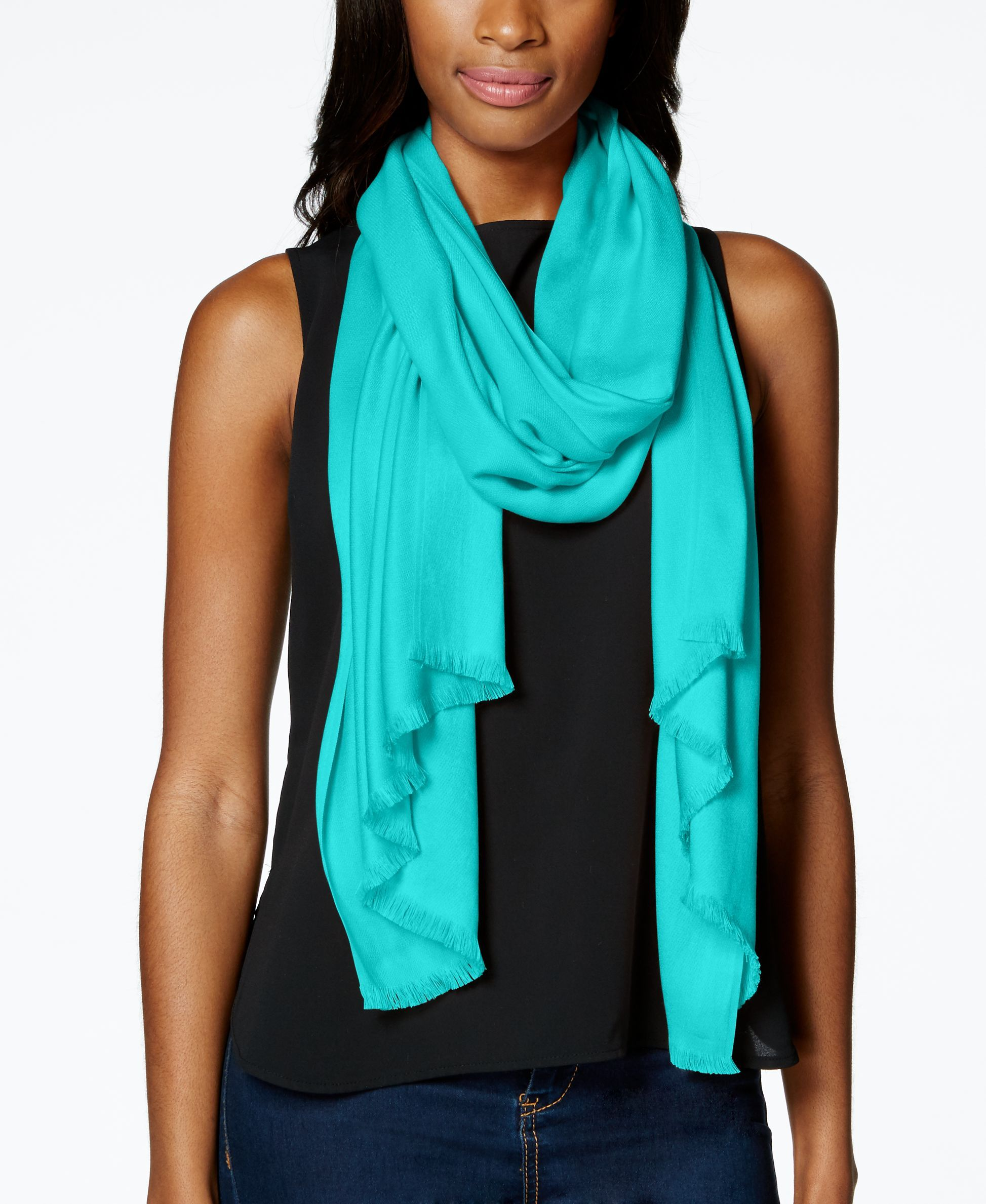 be385aa89179c I.N.C. Wrap & Scarf in One, Created for Macy's | Products | Pashmina ...