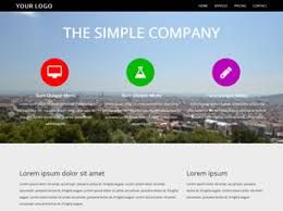 Simple Company Free Website Template Free Css Templates Free Css - Basic website templates