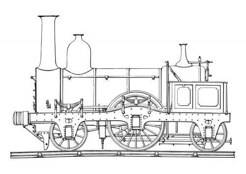 Steam Train Free Drawings To Download Train Coloring Pages