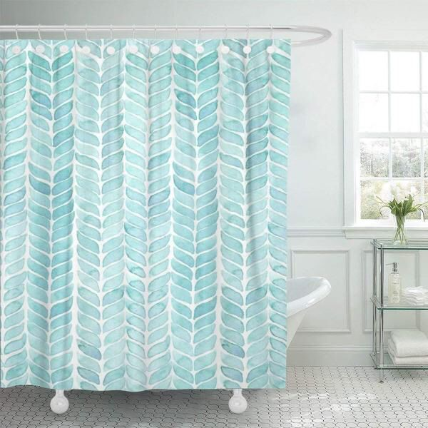 Cheap Painting Shower Curtain Collection