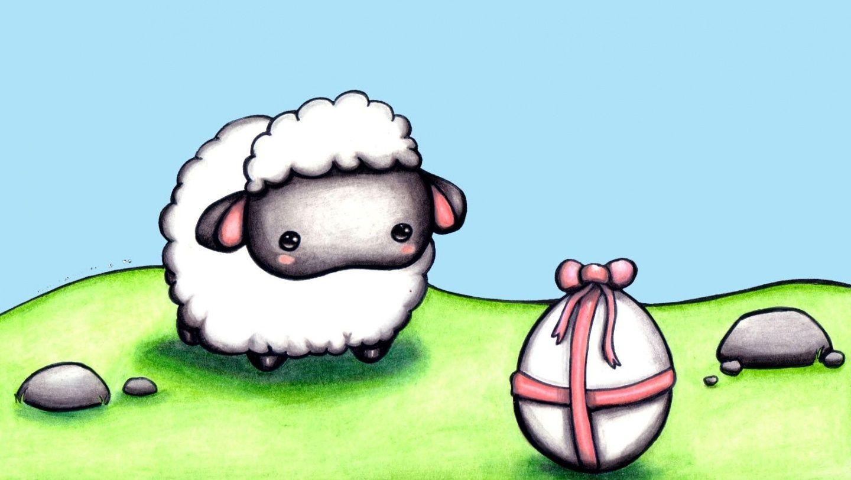 Osterlamm Wallpapers Christmas Live Wallpaper Easter Lamb Easter Frame