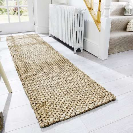 Runner Is Crafted With A Chunky Jute
