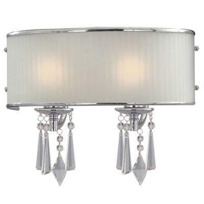 House of Hampton Custinne 2 Light Vanity Light