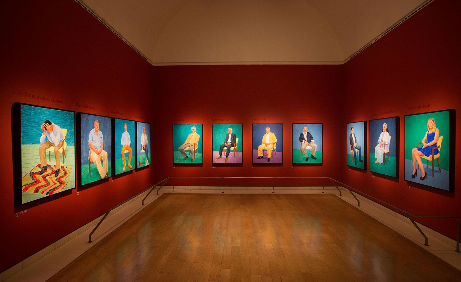 Image result for David Hockney at the Royal Academy of Arts