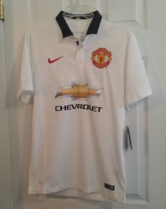 NEW Nike Dri-Fit Manchester United Game Match Soccer Jersey Mens Small S  611032 a44694a1f