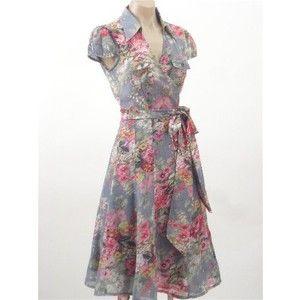 Vintage style floral dresses