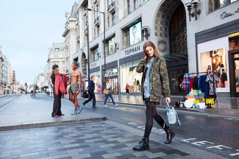 Shop London and visit Oxford Street with a selection