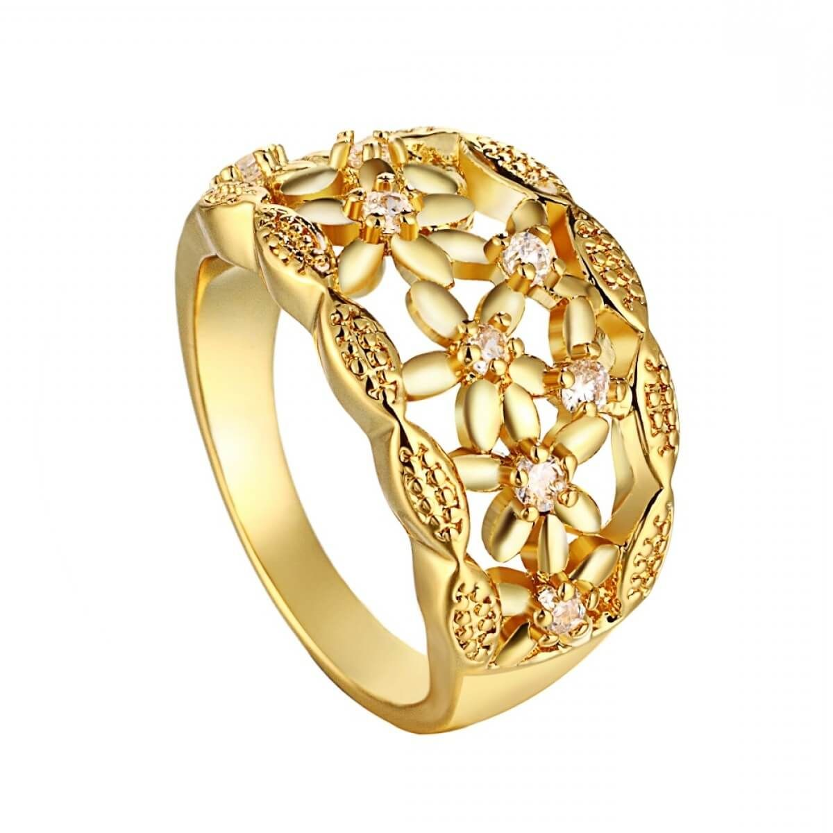 15 Elegant Gold Ring Designs For Women Fashionterest Gold Ring Designs Ring Design For Female Jewelry Design