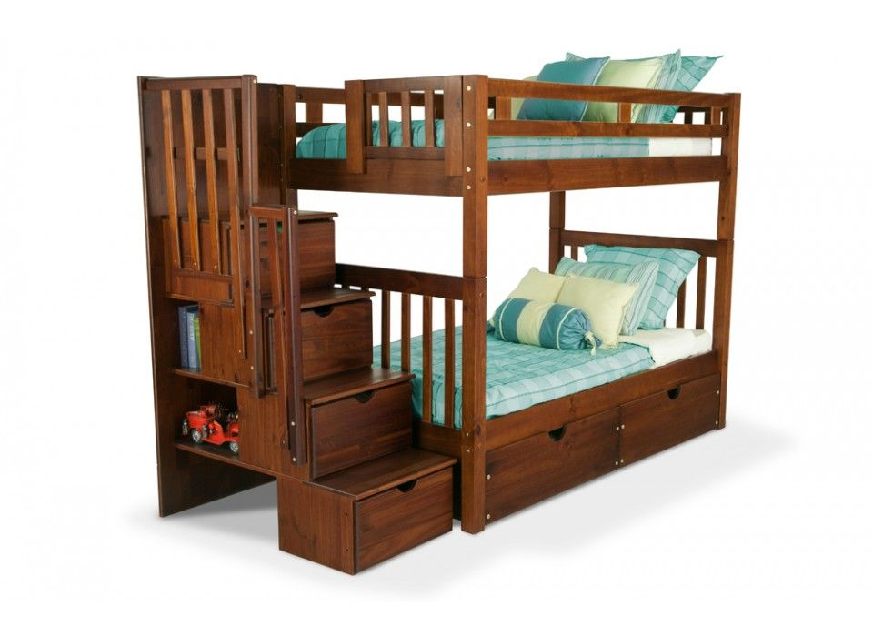 Colorado Stairway Bunk Bed Bob S Discount Furniture Storage