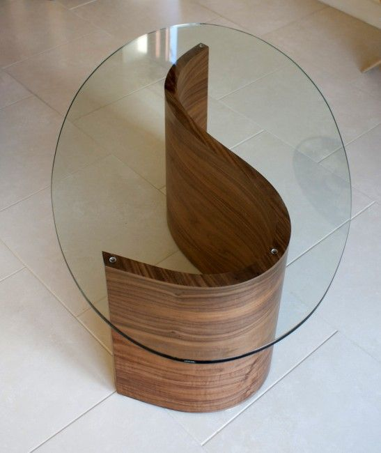 flowing river coffee table, contemporary designer furniture