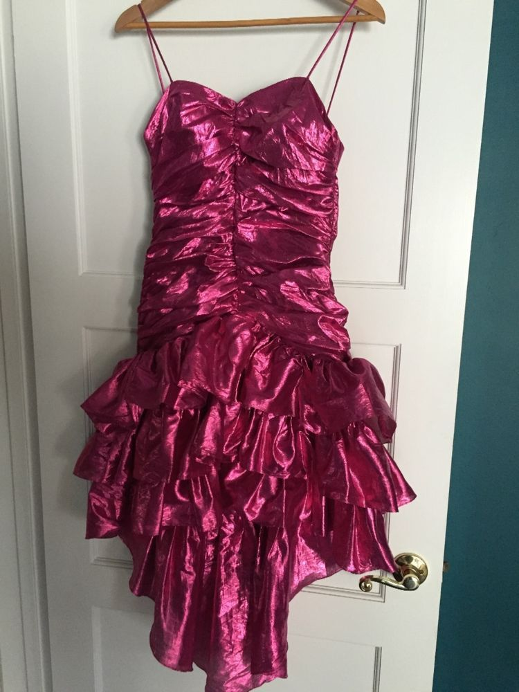 Totally 80\'s prom dress hot pink or 80\'s costume | ReProm ...