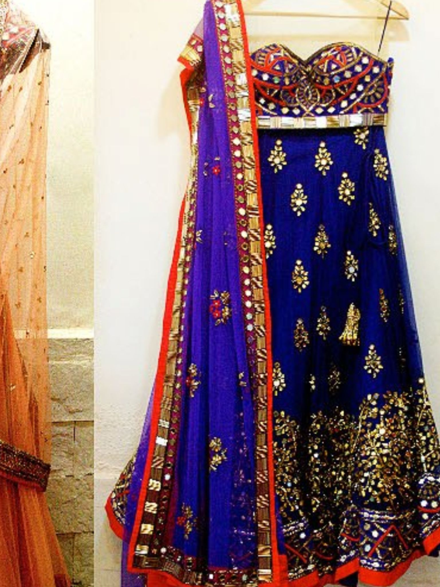 Arpita Mehta anarkali, great for welcome night or pre wedding event ...