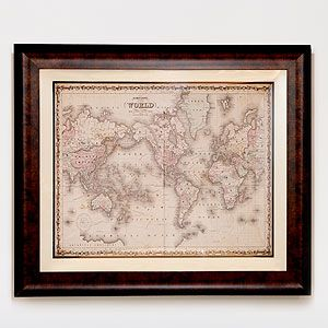 Johnsons world map wall art and decor home decor world market johnsons world map wall art and decor home decor world market gumiabroncs Gallery