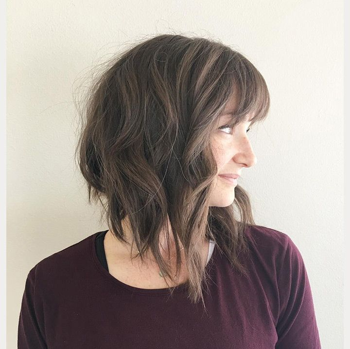32+ Inverted bob with bangs trends