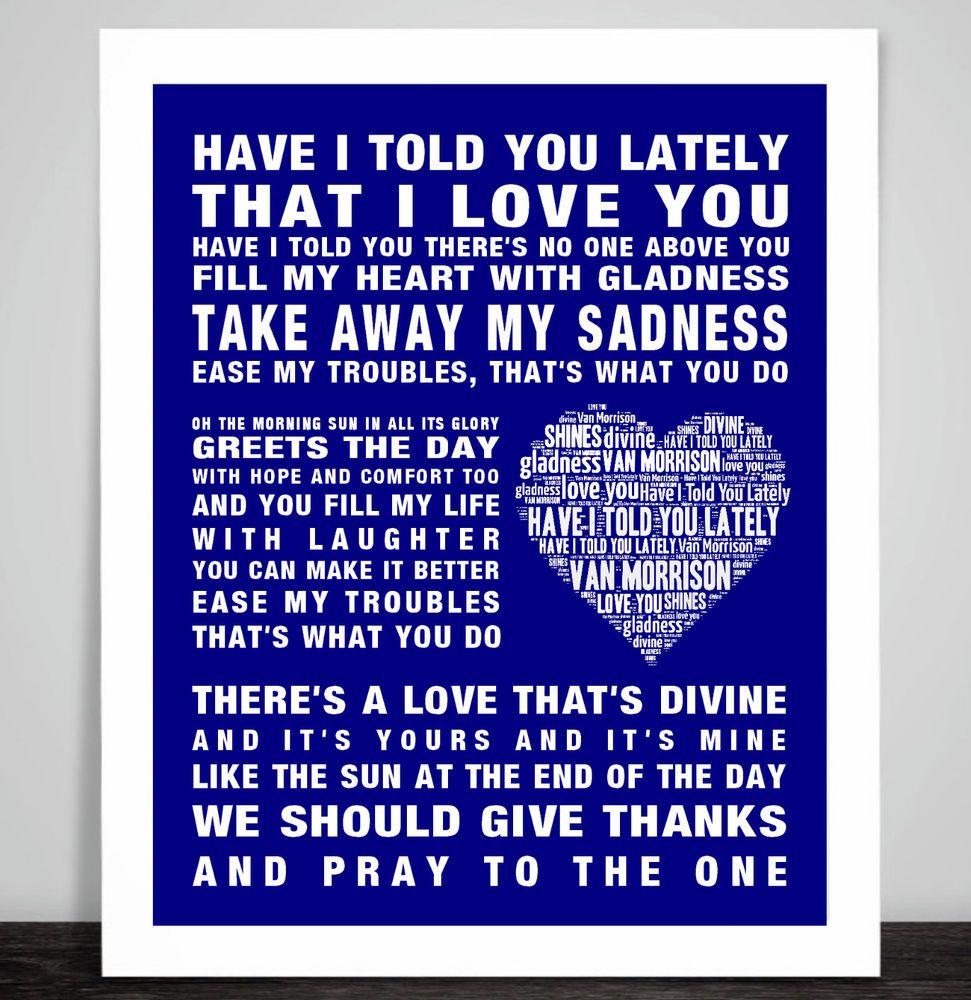 Memorial Gift Frank Sinatra My Way music Song lyrics Word Art Print Remembrance
