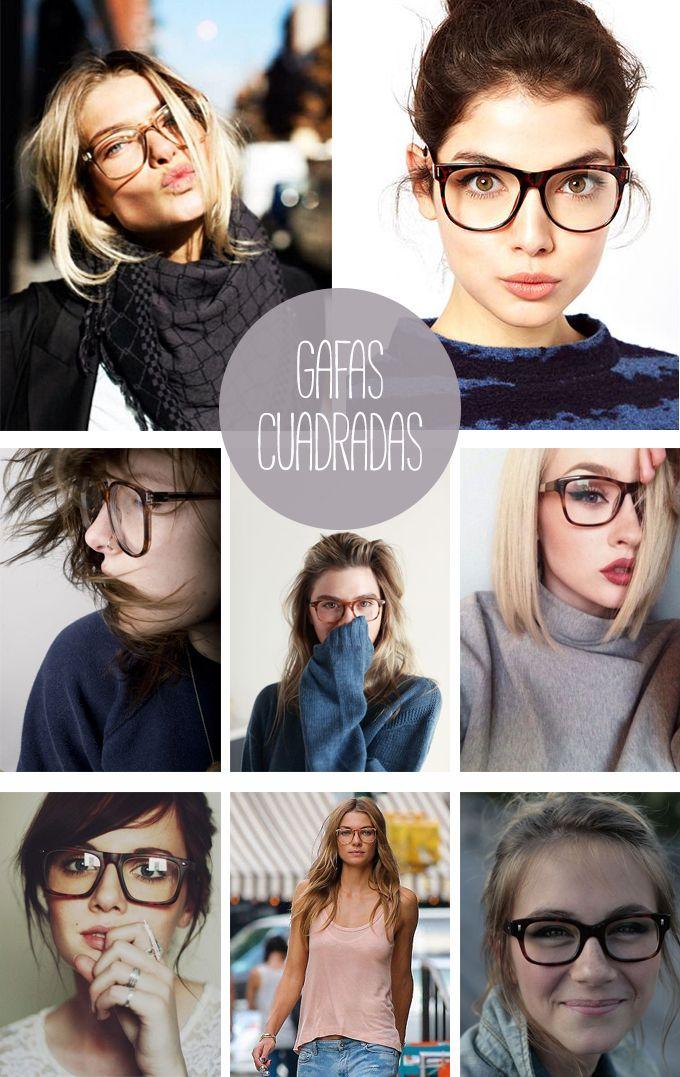 talla 40 c7ef0 6381f Con gafas y a lo loco | lentes | Gafas de ver moda, Gafas y ...