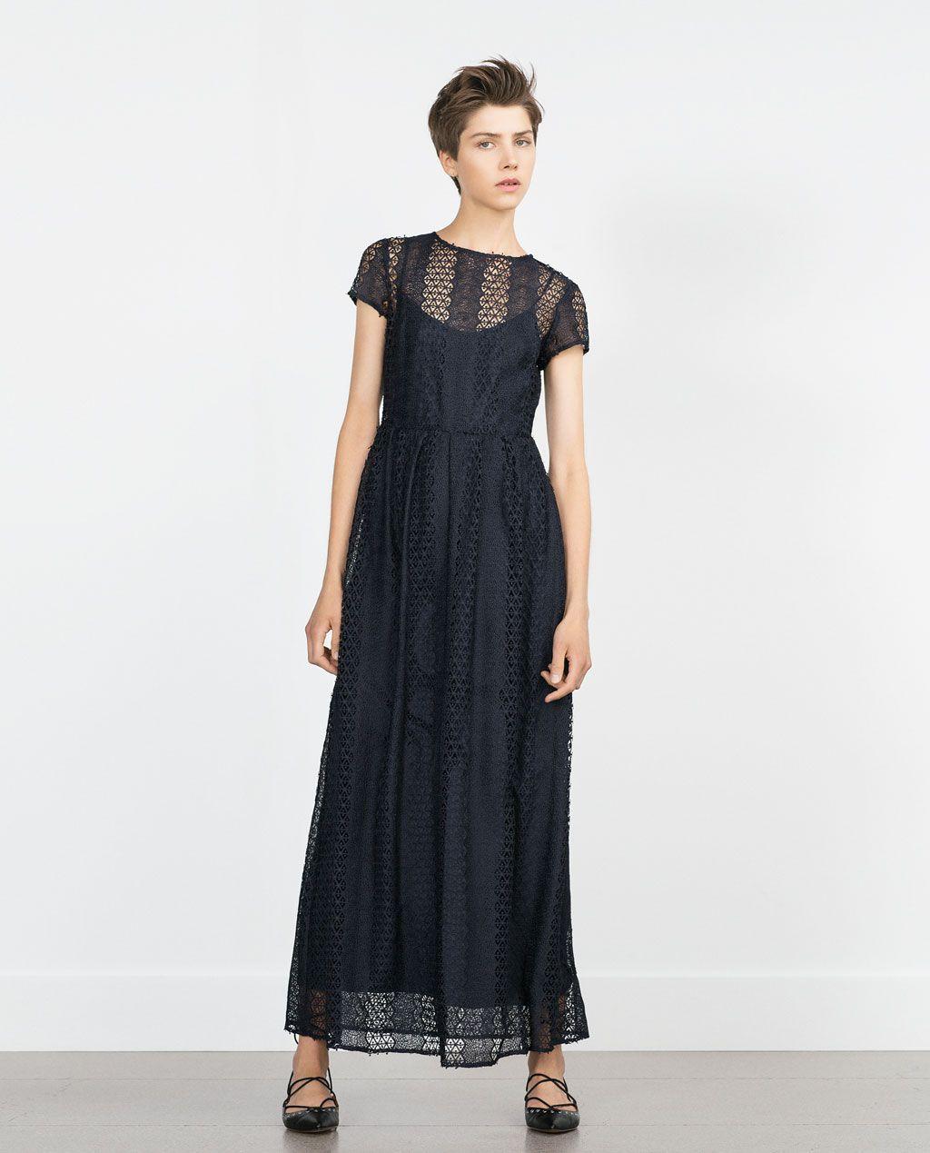 Image 11 of LACE DRESS from Zara  원피스, 레이스, 패션