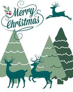 Free Merry Christmas Printable, in an 8 x 10 size, available to download and print!
