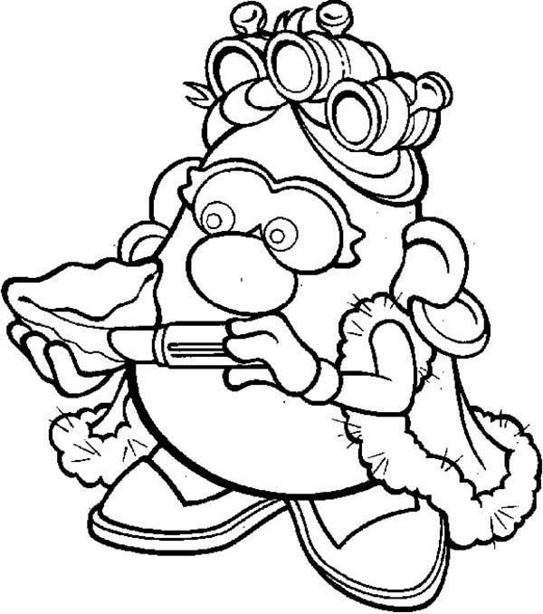Mr Potato Head Wife Coloring Pages Bulk Color Coloring Pages Dinosaur Coloring Pages Coloring Pages For Kids