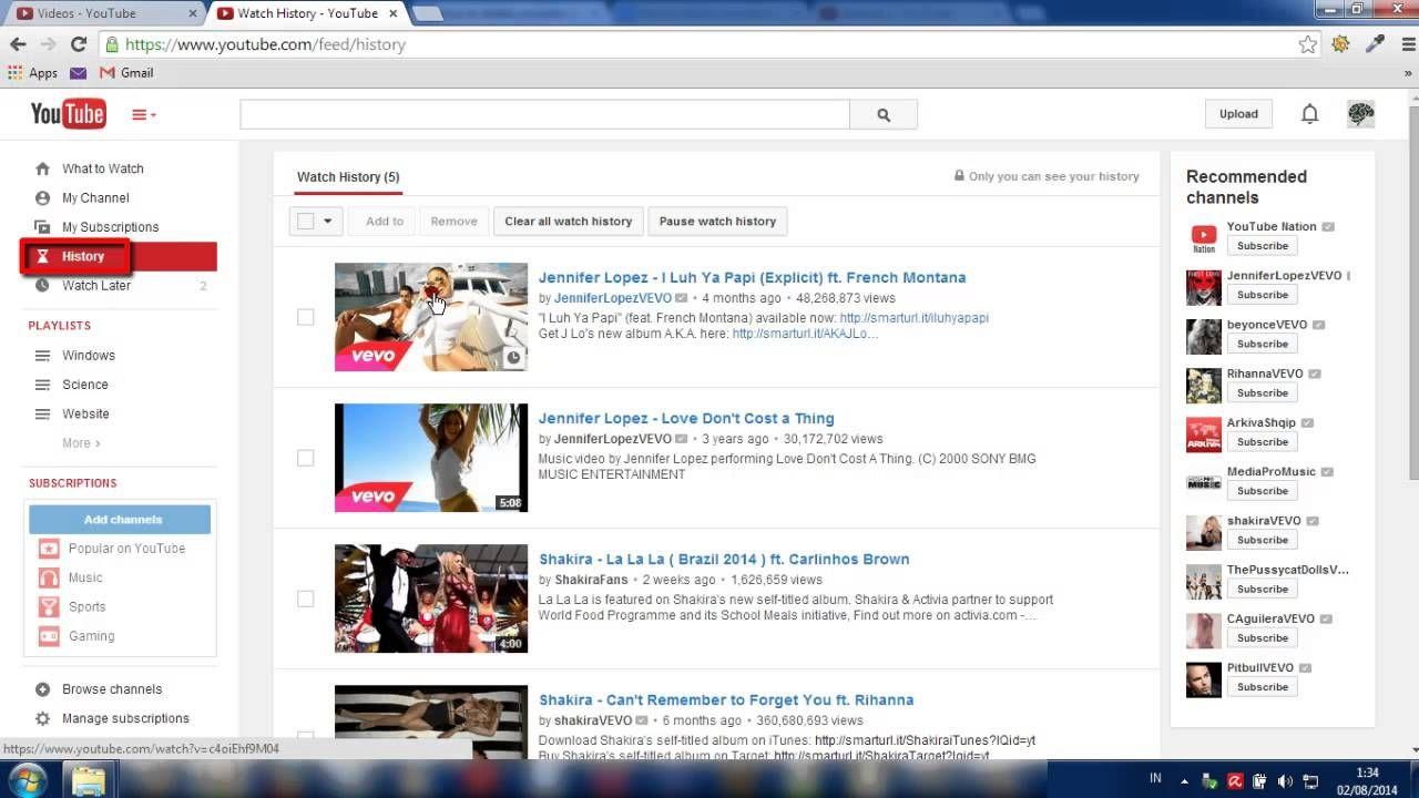 Cara Menghapus Recommended Rekomendasi Video Di Youtube Video Tutorial Tips Youtube Sosmed Sosialmedia