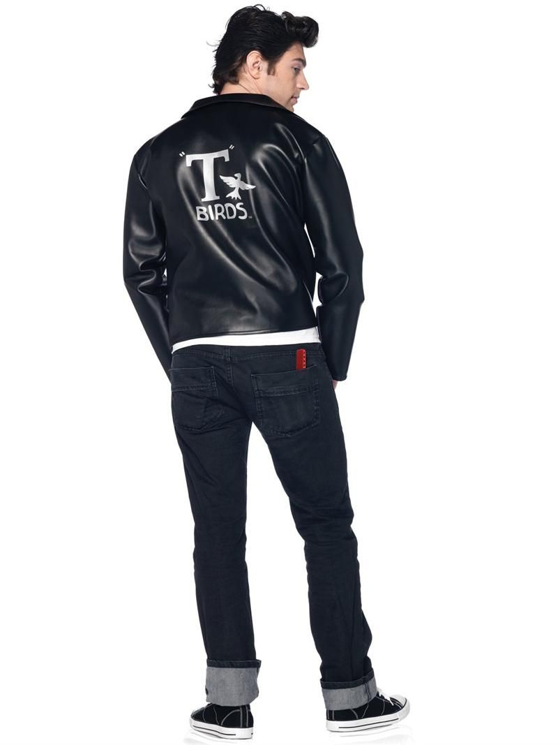Danny zuko black t shirt - Danny From Grease Costume Costume Back Grease Danny Zuko Jacket Costume Grease