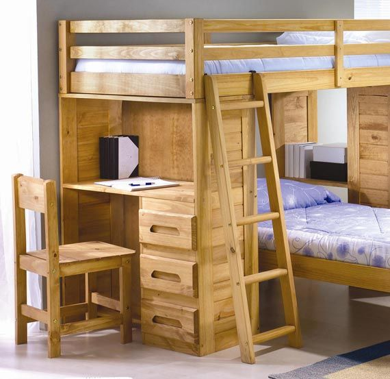 bunk beds cool wooden twin loft bed design charming kids furniture with desk kids rooms. Black Bedroom Furniture Sets. Home Design Ideas