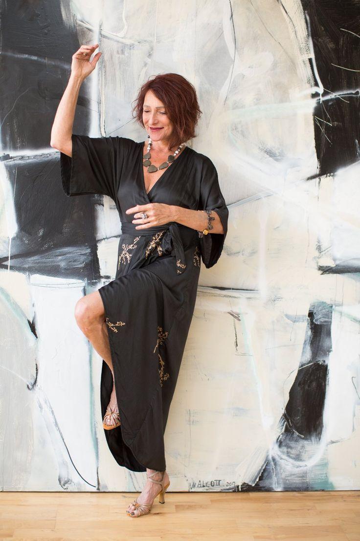 As Seen On...AnaLinda of Tango Embrace As Seen On...AnaLinda of Tango Embrace – Ash & Rose Breath Kimono Dress dress small style trade fashion fashion