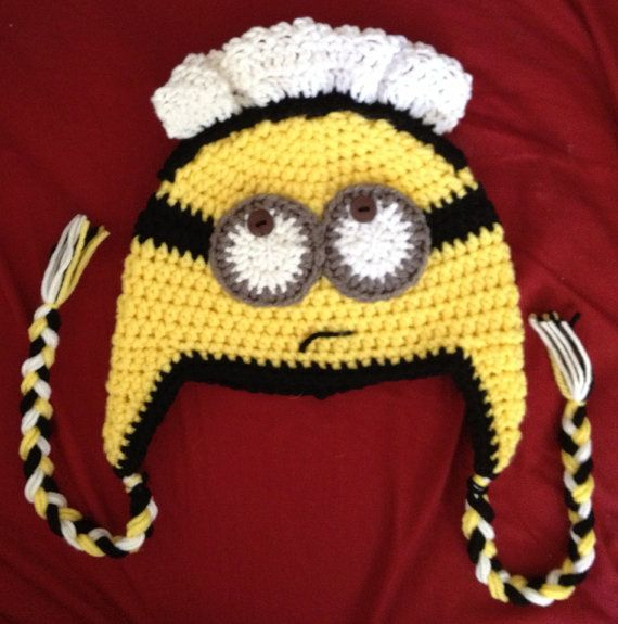 Minion Beanie Despicable Me 2 Inspired Maid by April414Creations ...