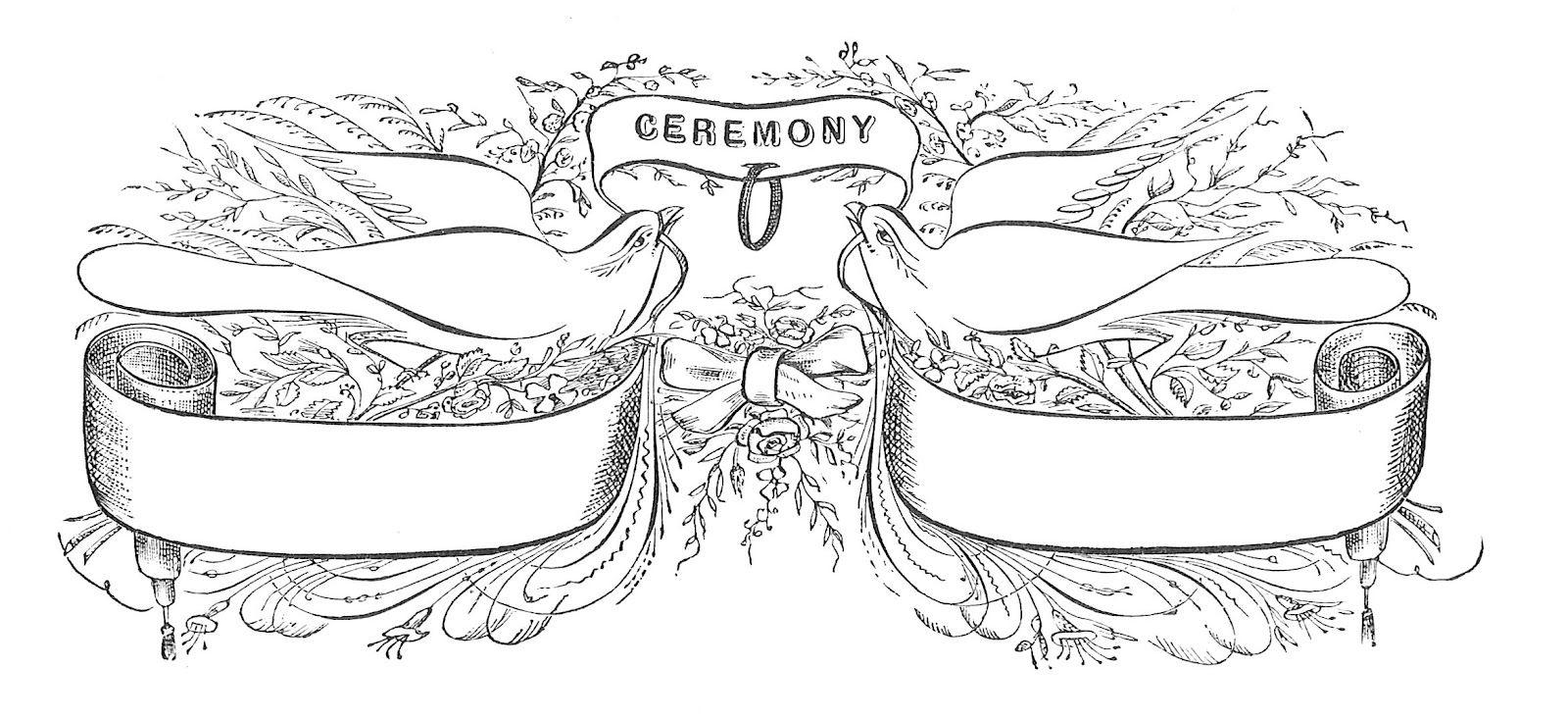 Antique Images: Vintage Wedding Graphic: Victorian Graphic Design ...