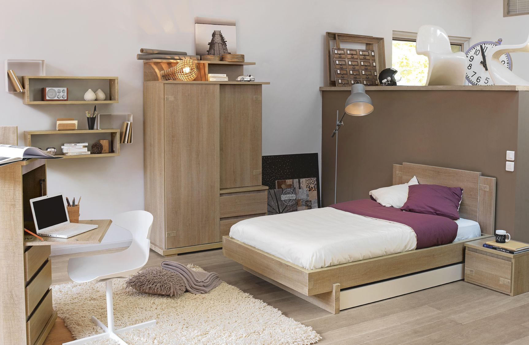 Tweed children bedroom furniture Collection made in France by