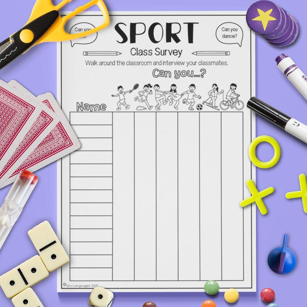 Sport Class Survey