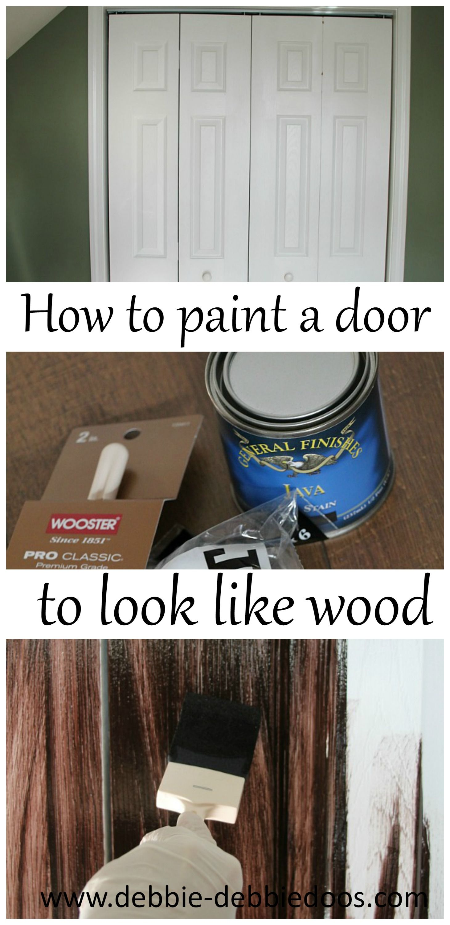 kitchen cabinets painting how to paint a plain white door to look like wood rustic 20965