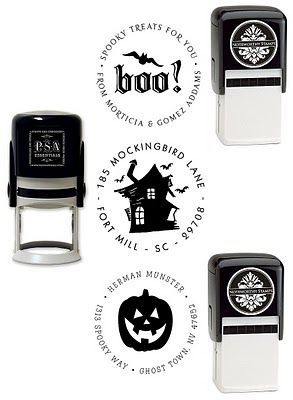 Start Planning for a Haunting Halloween on the @FineStationery Blog #stamps