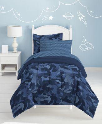 Dream Factory Geo Camo 5 Pc Twin Bed